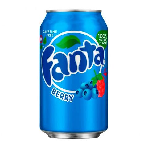 Fanta Berry Фанта Лесные Ягоды 0,355 л