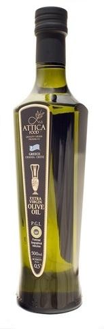 Оливковое масло Премиум PGI Attika Food 500 мл