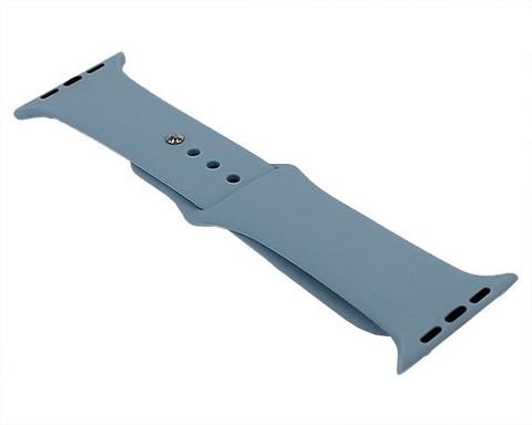 Ремешок для Apple Watch 42mm/44mm силиконовый | сирень