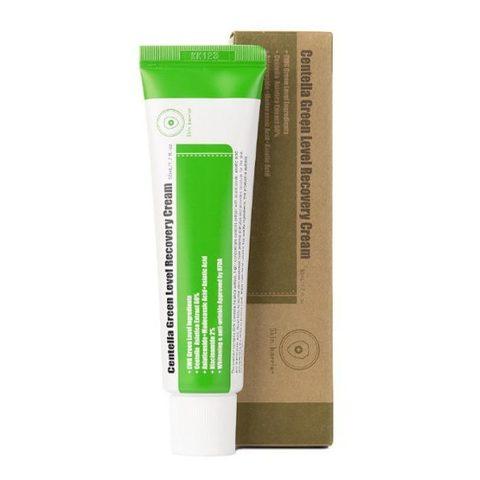 Purito Centella Green Level Recovery Cream успокаивающий крем для восстановления кожи с центеллой