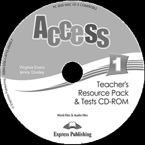 Access 1. Teacher's resource pack & tests CD-ROM. CD-ROM для учителя к тестовым заданиям с дополнительными материалами