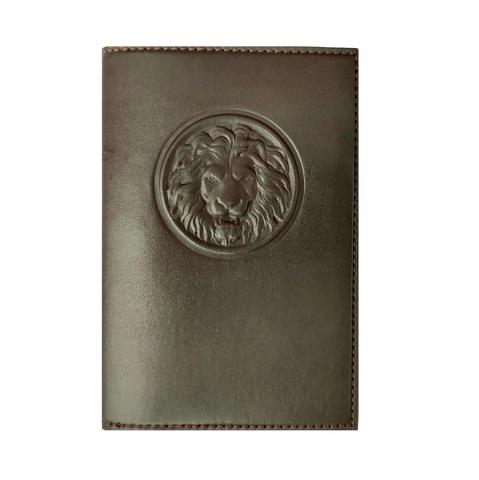 Обложка для паспорта с карманами «Royal». Цвет коричневый