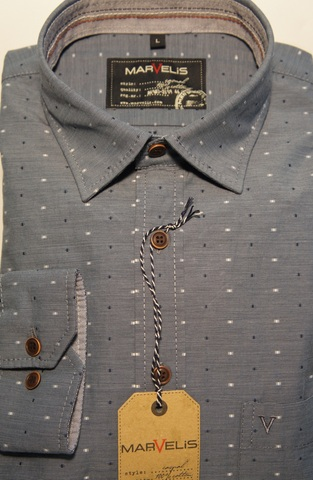 Сорочка мужская MarVelis