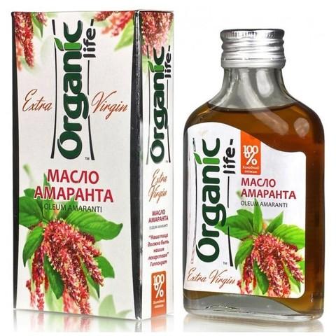Амарантовое масло Organic life (сквален 6%)