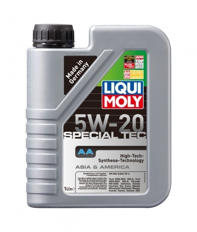 Liqui Moly Special Tec AA (Leichtlauf Special AA)  5W-20 - НС-синтетическое моторное масло