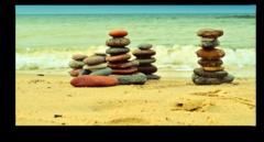 """Постер """"Пирамидки из камней"""""""