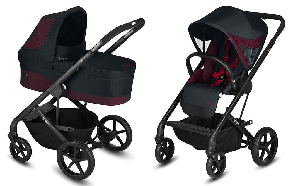 Cybex Balios S 2 в 1, для новорожденных Детская коляска Cybex Balios S 2 в 1 FE Ferrari Victory Black cybex-baliuos-s-2-in-1-fe-ferrari-victory-black.jpg