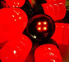 Светодиоды в дорожной гирлянде