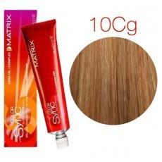 Matrix Color Sync: Copper Gold 10CG очень-очень светлый блондин медно-золотистый, крем-краска без аммиака, 90мл