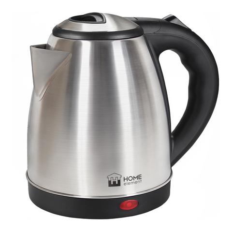 Чайник металлический HOME ELEMENT HE-KT177 черный/сталь