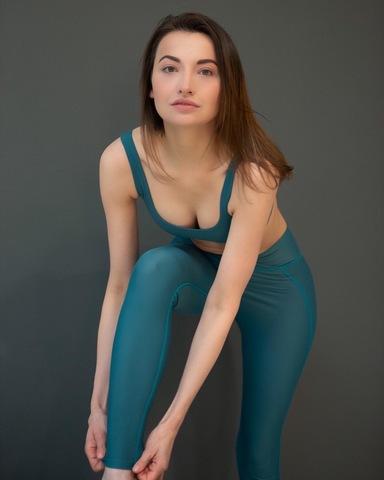 Леггинсы жен. для йоги Cosmic