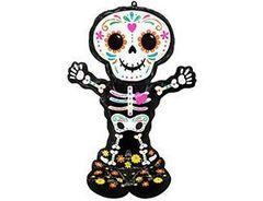 А Фигура, Скелет, День Мертвых, 34