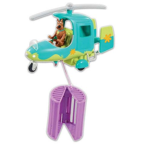 Скуби Ду и вертолёт с капканом