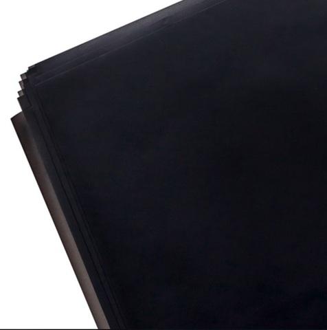 Пленка матовая 20 листов, размер:60х60см, цвет: черный
