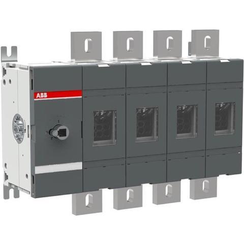 Выключатель нагрузки-рубильник до 1250 A, 4-полюсный OT1250E04. ABB. 1SCA022860R5690