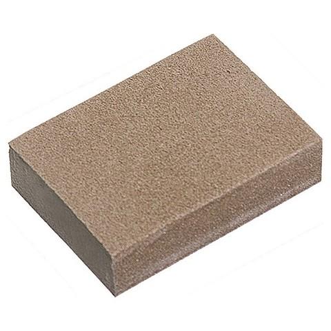 Губка для шлифования, 100 х 70 х 25 мм, мягкая, 3 шт, P 60/80, P 60/100, P 80/120 Matrix