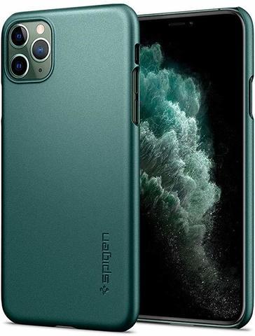 Чехол Spigen Thin Fit для Apple iPhone 11 Pro Max Case (2019) - Midnight Green