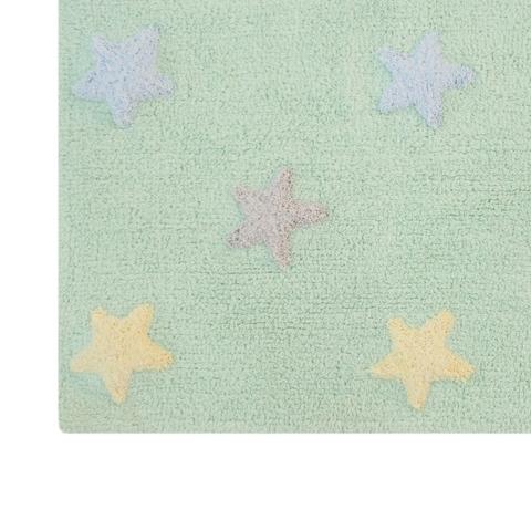 Ковер Lorena Canals Tricolor Stars Mint (120 х 160)