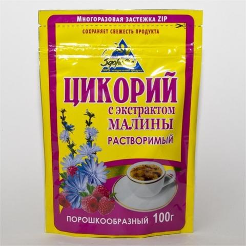 Напиток цикорий ЗДОРОВЬЕ Малина 100 г ДП РОССИЯ