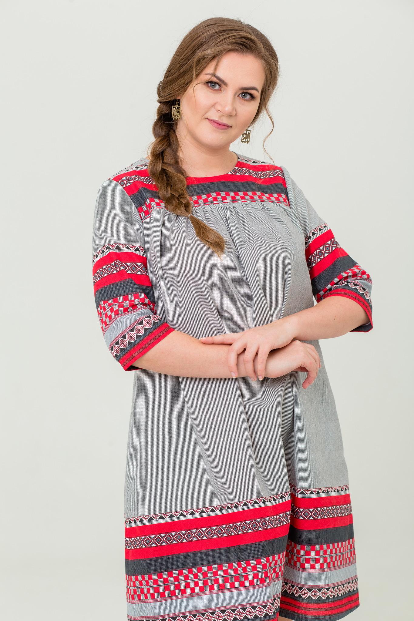 Платье льняное Чудное мгновенье с карманами в интернет-магазине