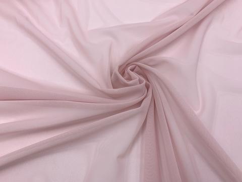Сетка эластичная пыльно-розовая Lauma
