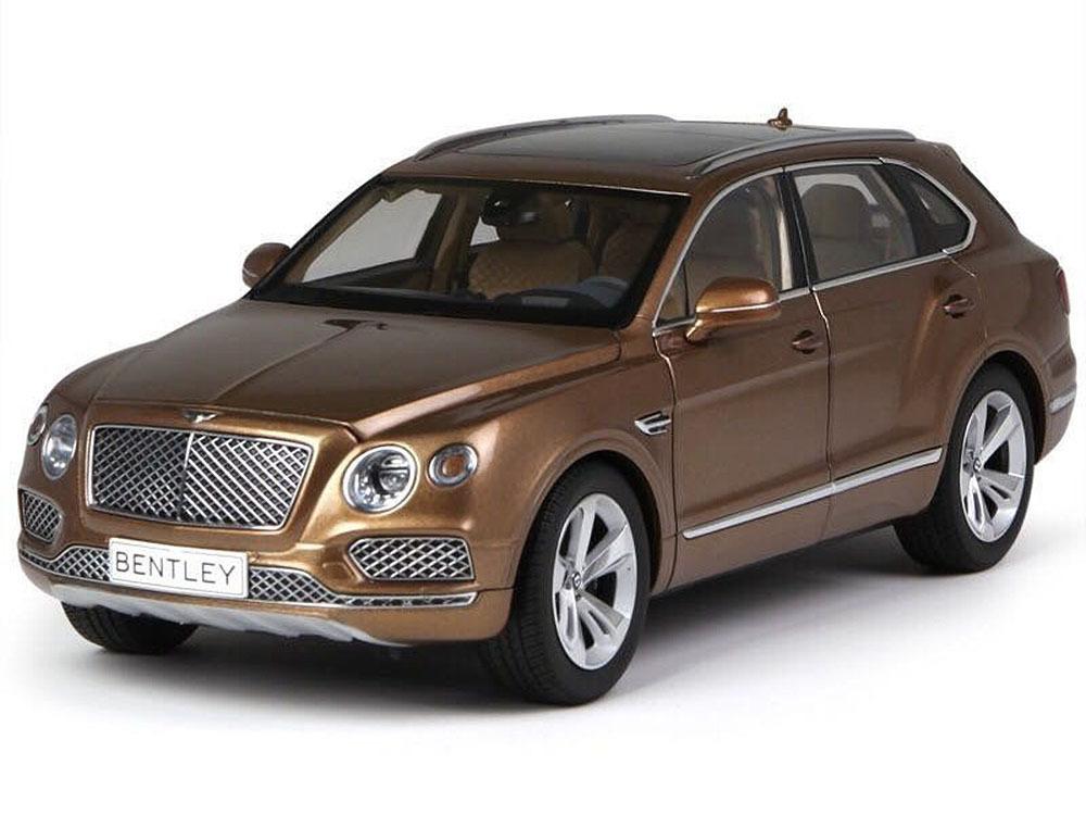 Коллекционная модель Bentley Bentayga 2016