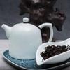 Фарфоровый чайник с голубой глазурью 250 мл