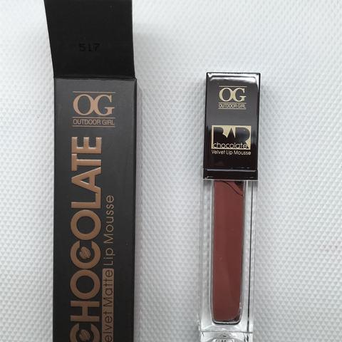 OG-C1206 Блеск-мусс для губ МАТОВЫЙ CHOCOLATE BAR №517