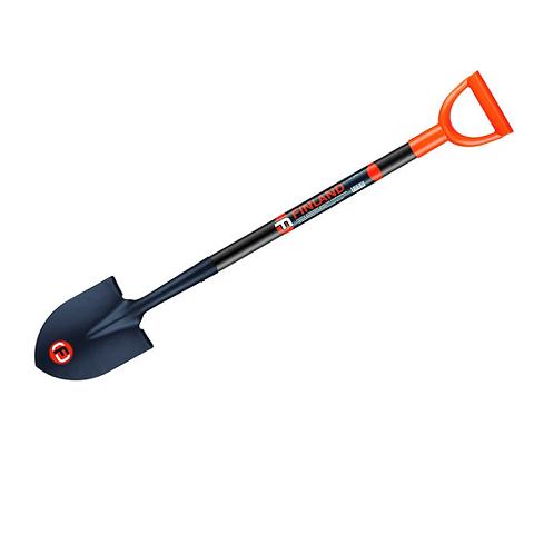 Лопата штыковая дамская укороченная с ручкой, FINLAND