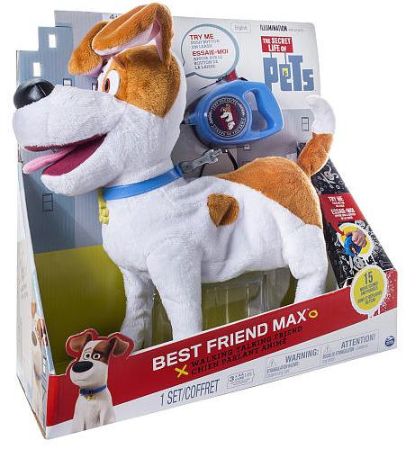 Тайная жизнь домашних животных интерактивная игрушка Макс