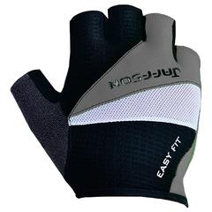 Велоперчатки JAFFSON SCG 46-0206 (чёрный/серый/белый)