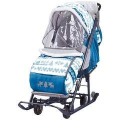 купить санки-коляску ника детям