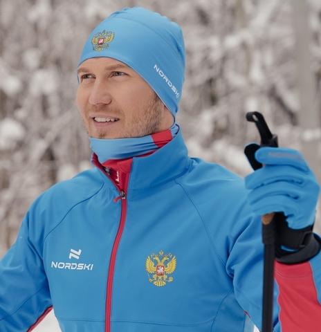 Лыжная шапка Nordski Active Blue
