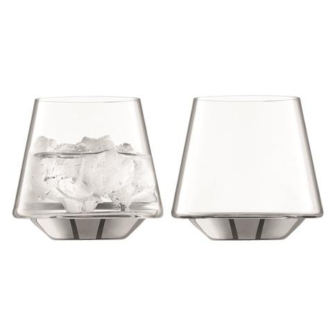 Набор из 2 стаканов Space, 430 мл, платина