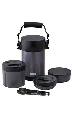 Термос для еды многофункциональный Thermos JBG-2000 (2 литра), черный