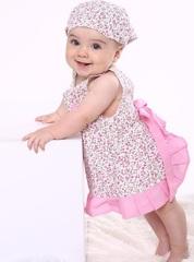 Летнее платье с трусиками Пироженко (розовое)