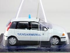 Fiat Punto SX Gendarmerie of San Marino 1:43 DeAgostini World's Police Car #40