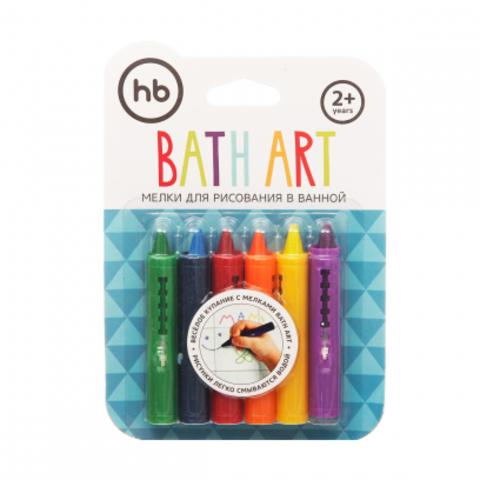 Мелки для рисования в ванной BATH ART, Happy Baby