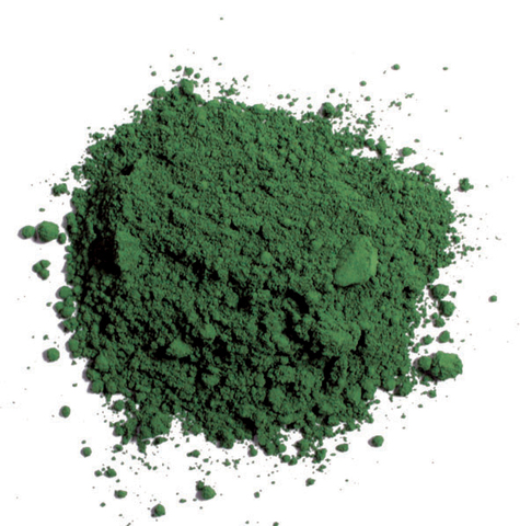 Pigments Chrome Oxide Green 35 ml.