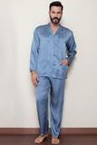 Эксклюзивная мужская пижама из шелка B&B Valentino