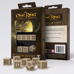 The One Ring RPG 6D6+D12 Deluxe Dice set (7)