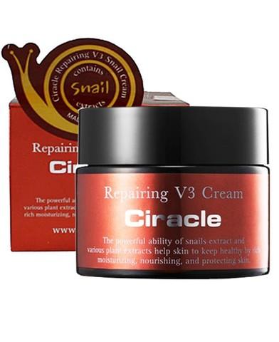 Восстанавливающий антивозр.крем Ciracle  Repairing V3 Snail Cream 50 мл