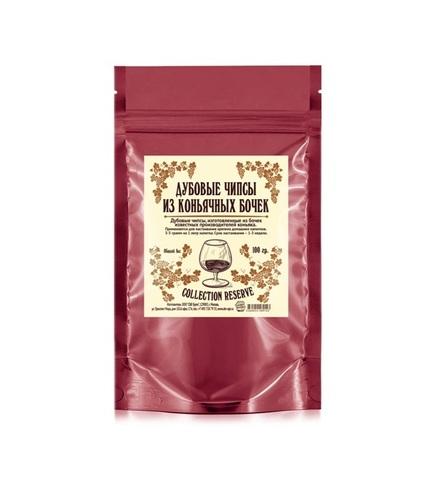 Дубовые чипсы «Коньячные», 100 гр