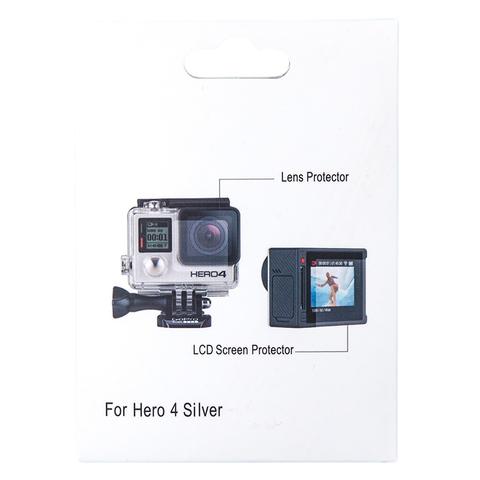 Защитные стекла для GoPro 4 Silver