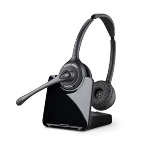 Plantronics CS520 (Over-the-head) —  (DECT) гарнитура для стационарного телефона в комплекте с электронным микролифтом