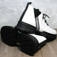 Белые женские ботинки Ripka 146White