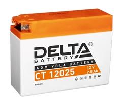 Аккумулятор DELTA 12V 2,5Ah (CT12025)