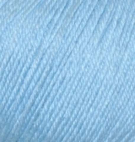 Пряжа Baby wool ( Alize) 350 Светло-голубой