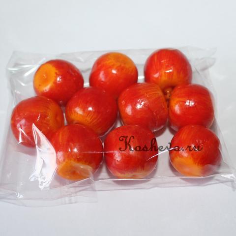 Яблоко красное с коротким хвостиком 10шт