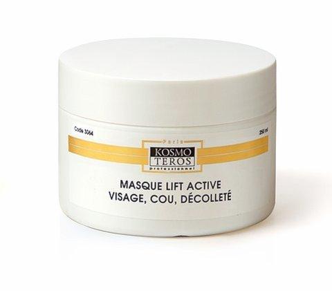 Активная лифтинг-маска для лица ,шеи, декольте, Masque lift active visage cou decollete, Kosmoteros (Космотерос), 250 мл